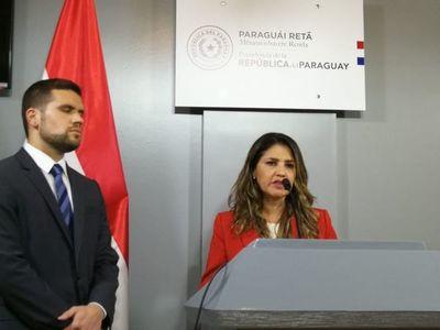 Renunció Ovelar y designaron a Cecilia Pérez como ministra de Justicia