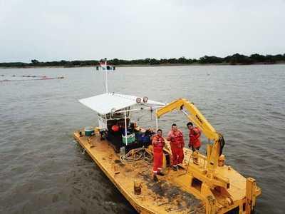 Paso Pilar se encuentra habilitado para todo tipo de embarcaciones tras dragado