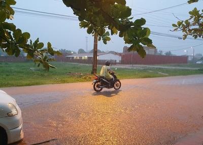 Buena lluvia alcanza a Concepción