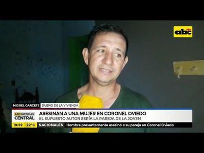 Asesinan a una mujer en Coronel Oviedo