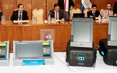 Máquinas de votación: DNCP dará a conocer hoy dictamen