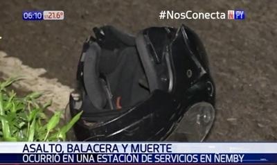 Motochorro falleció tras cometer asalto en Ñemby