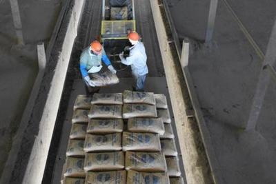 Despacho de bolsas de cemento se redujo casi en un 50%