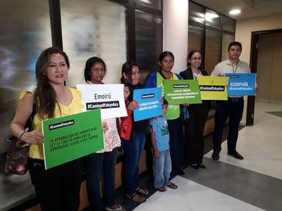 Comunidad indígena pide cumplir sentencia de Corte Interamericana