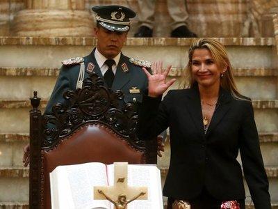 Rusia acepta a Jeanine Áñez como mandataria provisional de Bolivia