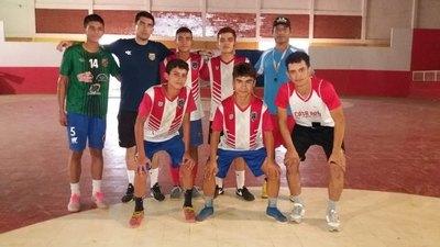 El futsala de San Pedro de Ycuamandyyu estará en los Sudamericanos