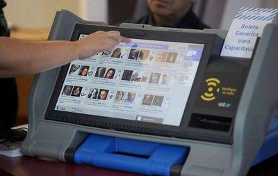 """DNCP """"no halló"""" irregularidades y la licitación de urnas electrónicas sigue"""