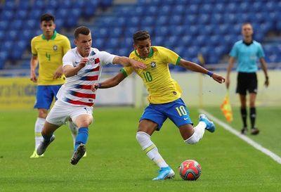 Sub 23: Brasil se impone por la mínima