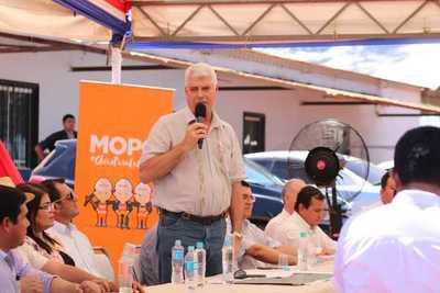 Ministro del MOPC solicita ampliación del déficit para ejecución total de presupuesto y avanzar con obras