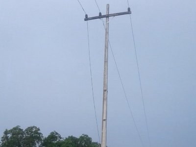 Habitantes de Alto Paraguay pasarán la noche sin electricidad