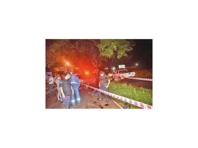 Motochorro muere baleado tras asaltar una gasolinera