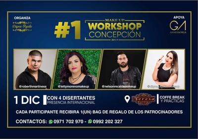 Realizarán Workshop de Make Up en Concepción