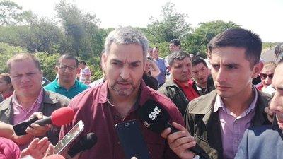 Mario Abdo pide a legisladores patriotismo en el tratamiento del PGN