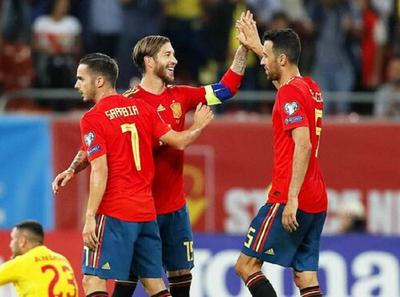 Cargada cartelera camino a la Eurocopa 2020
