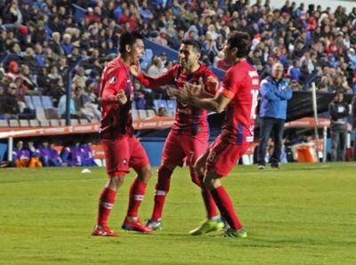Un gol de Arzamendia figura entre los mejores de la Libertadores