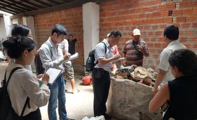 HOY / Taiwaneses evalúan tratamiento de residuos sólidos en Paraguay