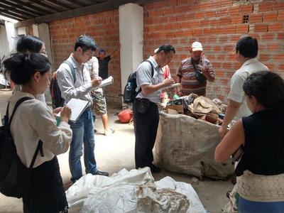 Expertos taiwaneses sientan bases para proyecto de gestión y tratamiento de residuos sólidos en Paraguay