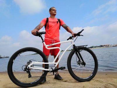 Pedaleará por varios países de Sudamérica en una bicicleta paraguaya para crear conciencia