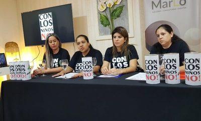"""La organización """"Con Los Niños No"""" lanzó su primera colecta"""