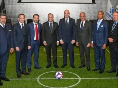 Florentino Pérez, nombrado presidente de la Asociación Mundial de Clubes