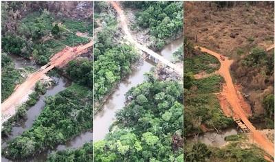 ARP repudia nula accionar fiscal ante deforestación de Reserva Morombí