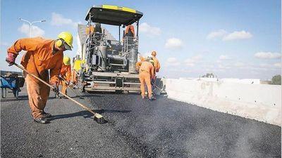 Las obras públicas generan 65.000 empleos directos en todo el país