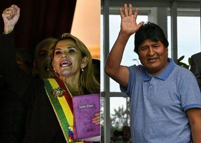 Áñez advierte a Morales que afrontará a la justicia si vuelve a Bolivia