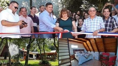 Inauguran hermoso complejo recreativo en Santa Rosa