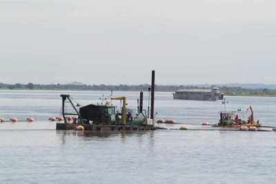Dragarán río Paraná para permitir navegabilidad