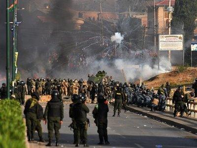 Al menos 5 muertos y 22 heridos en graves enfrentamientos en Bolivia