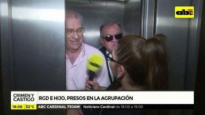 Ramón González Daher e hijo presos en la Agrupación