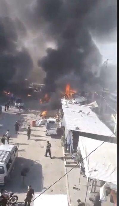 Al menos 14 muertos en un atentado con coche bomba al norte de Siria