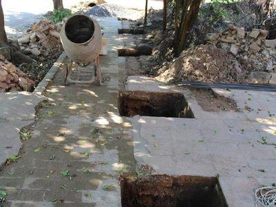 Autoridades de Mbocayaty del Yhaguy contienden en la vía pública