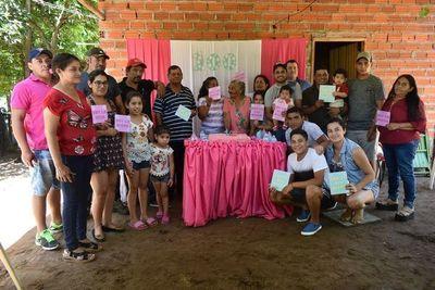 Abuela celebra sus 100 años de vida en Ayolas