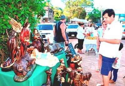 En Areguá ya se vive el ambiente navideño •