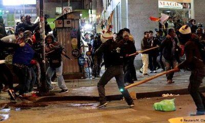 Se contabilizan al menos 23 muertos desde el estallido de la crisis en Bolivia