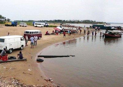 Jóvenes desaparecen en el río Paraguay