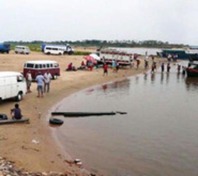 Jóvenes desaparecen en aguas del Río Paraguay