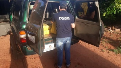 Policía incauta 500 kilos de marihuana en Caaguazú