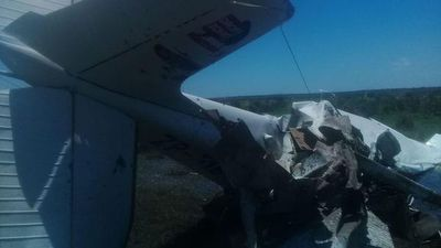 Avioneta se desplomó en estancia de Yuty