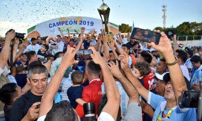 Guaireña es campeón de la Intermedia