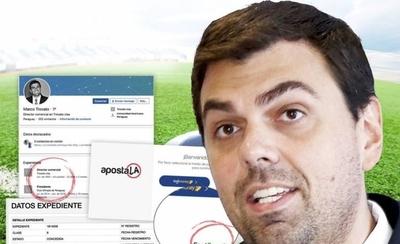 HOY / Empresa de Trovato opera con millonarias apuestas deportivas