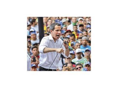 Guaidó descarta diálogo con Maduro