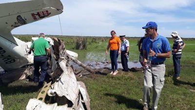 Accidente aéreo habría sido por un error del piloto