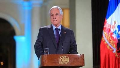 """Piñera: """"No habrá impunidad"""" para la violencia ni para los abusos en Chile"""
