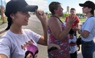 Fabi Martínez ya empezó una campaña para ir recaudando votos para el Baila