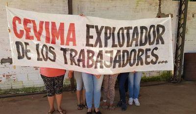 Cevima S.A. no paga el mínimo legal a sus trabajadores y para colmo se atrasa