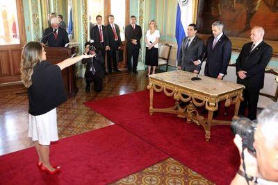 Ministro de la Corte participa de juramento