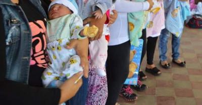 Harán baby  shower para  120 mamis