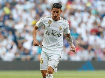 James se pierde los próximos partidos del Madrid por una lesión en la rodilla